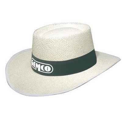 White Classic String Straw hat