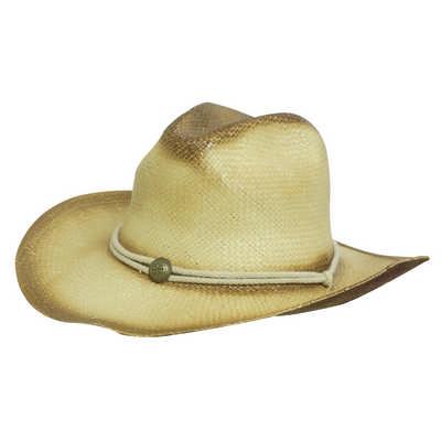 Sprayed Cowboy Hat w/- String Band