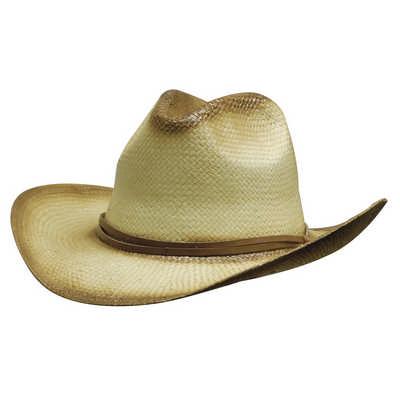 Sprayed Cowboy Hat w/- Leather Band