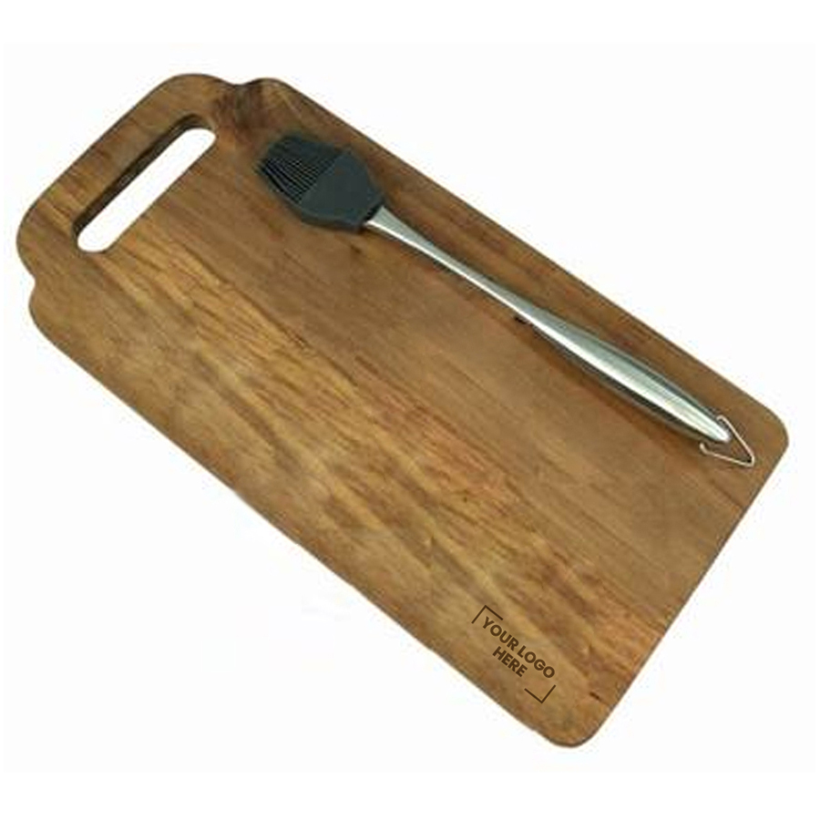 Great Outdoors Marinating Brush and Board Set  - (printed with 1 colour(s)) D132_PB
