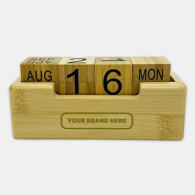 Bamboo Perpetual Calendar