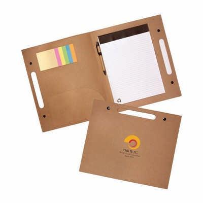Enviro Folder with Pen (EC221_PB)