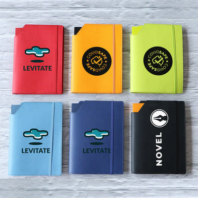 Leatherette Large Cover & Notebook