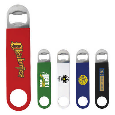 Bartender?s Vinyl Bottle Opener  - (printed with 1 colour(s)) K283_PB