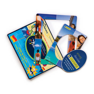 3 in1 Magnetic Photo Frame - (printed with 1 colour(s))