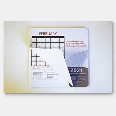 Calendar Mouse Mat  - (printed with 1 colour(s)) MM118_PB