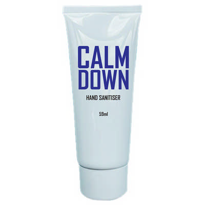 59ml Screw-Top Hand Sanitiser - 75% ethyl-alcohol