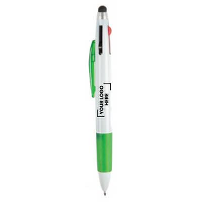 Tri-Colour Stylus Pen