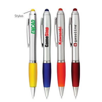 Silver Grenada Stylus Pen