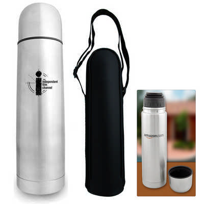 Bullet 500ml Vacuum Flask - (printed with 1 colour(s)) S185_PB