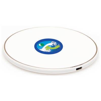 Axis Round Wireless Charging Dock - (printed with 1 colour(s)) T973_PB