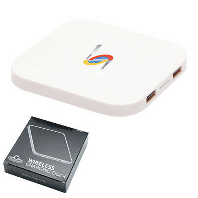 Axis Square Wireless Charging Dock - (printed with 1 colour(s)) T976_PB