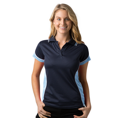 Ladies 100% Polyester Cooldry Micromesh Polo