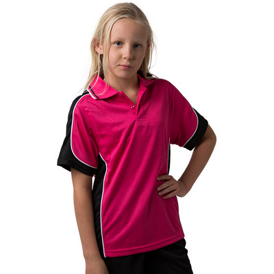 Kids 100% Polyester Cooldry Micromesh Polo