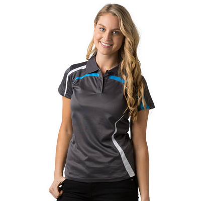 Ladies 100% Polyester Cooldry Polo
