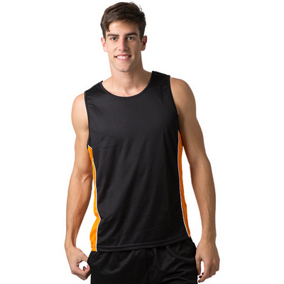 Adults 100% Polyester Cooldry Micromesh Singlet