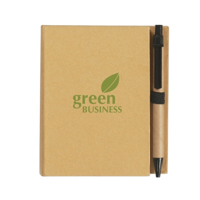 H1349P Eco-Inspired Notebook With Pen