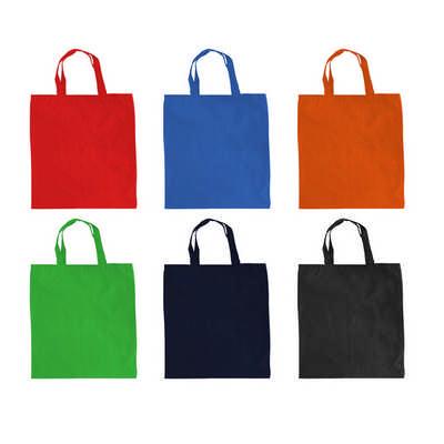 Coloured Calico Bag