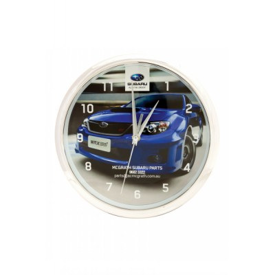 CLKB02 Wall Clock With Shiny Ring Finish And Full Colour Print