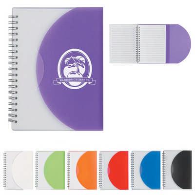 CMPB6970 13 X 18cm Spiral Notebook - (printed with 1 colour(s)) CMPB6970_OC