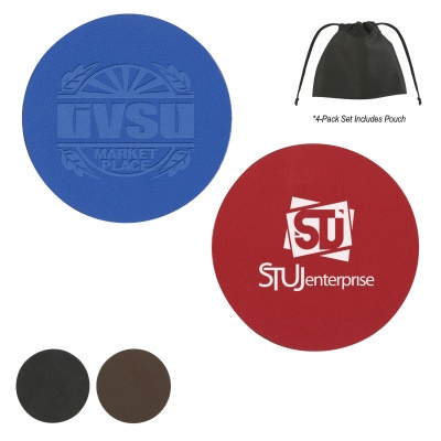 COSD98 Bonded Leather Coaster