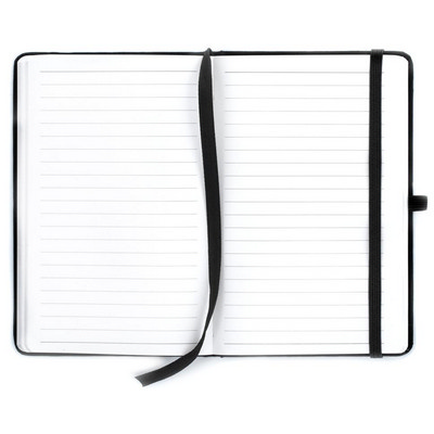 DESK32 A6 Notebook, Pen Loop And Elastic Closure. Hard Cover Front And Back