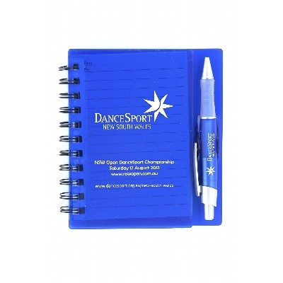 DESK33 Spiral Notebook With Mathcing Pen