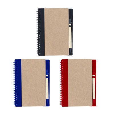 DESK34 Notebook With Recycled Cover And Pen