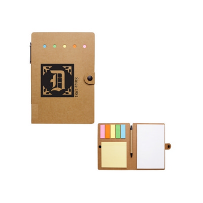 H1351P Large Snap Notebook With Desk Essentials