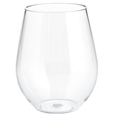 LIFE116 Perspex Stemless Wine Glasses
