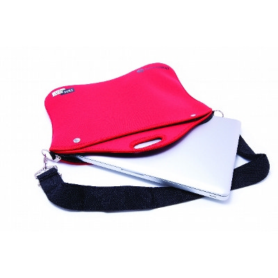 NEOP55 Neoprene Laptop Sleeve With Zipper Carry Handle And Strap