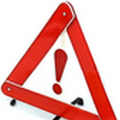 Car Breakdown Tripod Warning Sign