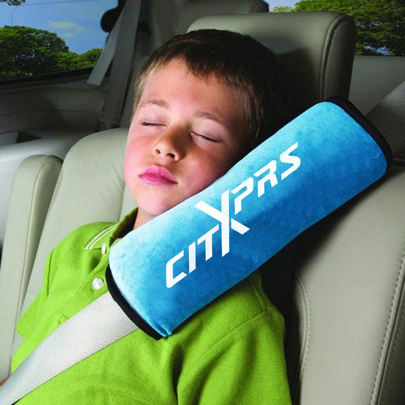 Car Soft Neck Pillow Safety Belt