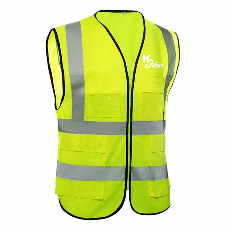 Building Construction High Visibility Safety Vest