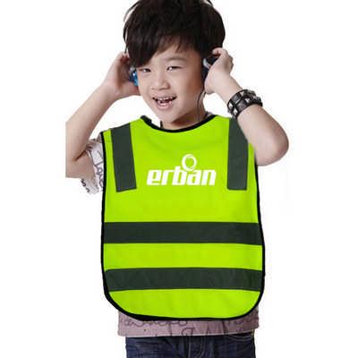 High Visibility Reflective Child Safety Vest