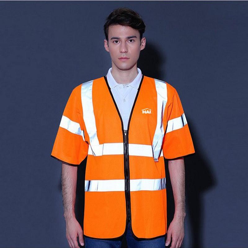 High Visibility Short Sleeve Safety Vest
