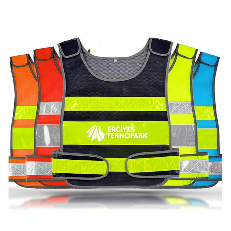 Working Running Reflective Stripes Safety Vest