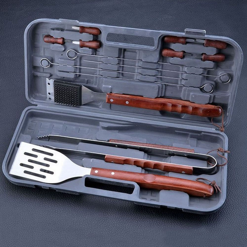 Bbq Tool Set Plastic Carry Box