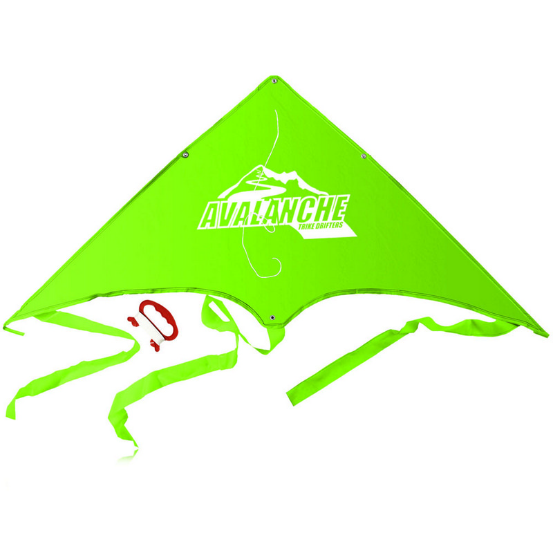 Delta Kite With Tail