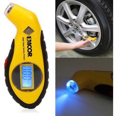 Digital Tyre Gauge With Led Indicator