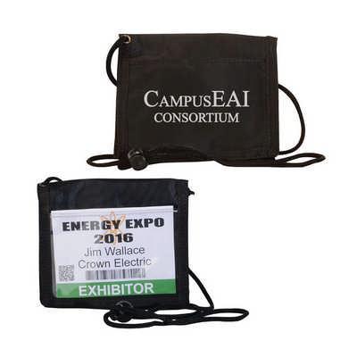Compact Lightweight Badge Holder Wallet