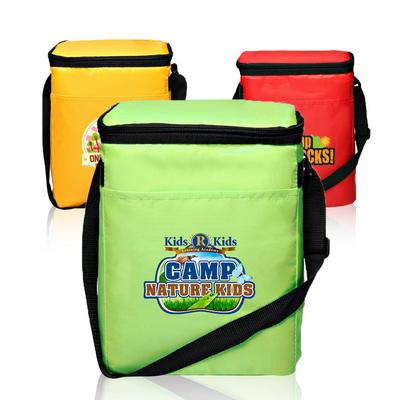 OCBBP104 12 Pack Polyester Cooler Lunch Bags