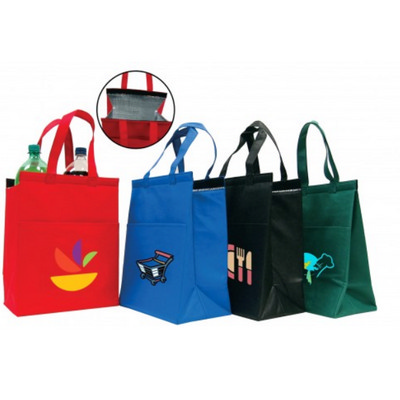 Insulated Hot/Cold Cooler Tote - Medium Hook & Loop closure Closure