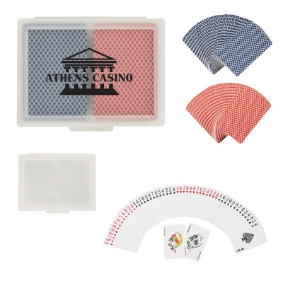 PCAN02 Double Playing Cards In Case