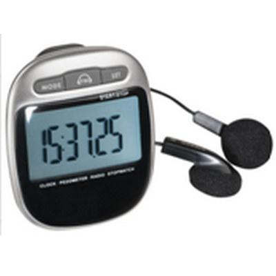 PEDL12 Pedometer With FM Radio