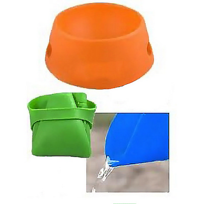 PETB09 Silicone Pet Feeding Bowl - (printed with 1 colour(s)) PETB09_OC