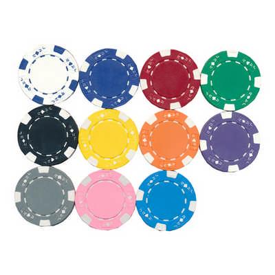 POTK01 Plastic Poker Tokens