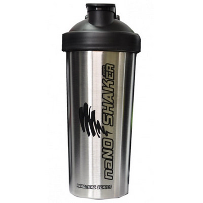 PROT04 Metal Protein Shaker 750ml