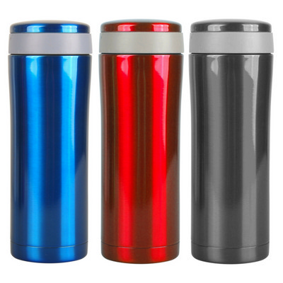 STAD31 400ml Double Wall Stainless Steel Vacuum Flask With Stainless Steel Color
