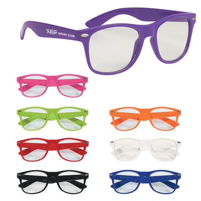 SUNG10 Clear Malibu Glasses